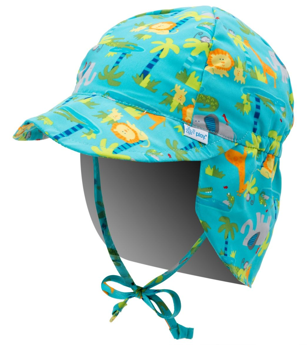 iPlay Boys  Turtle Classics Flap Sun Protection Hat (0mos-4yrs) at  SwimOutlet.com 9e8a7e69157
