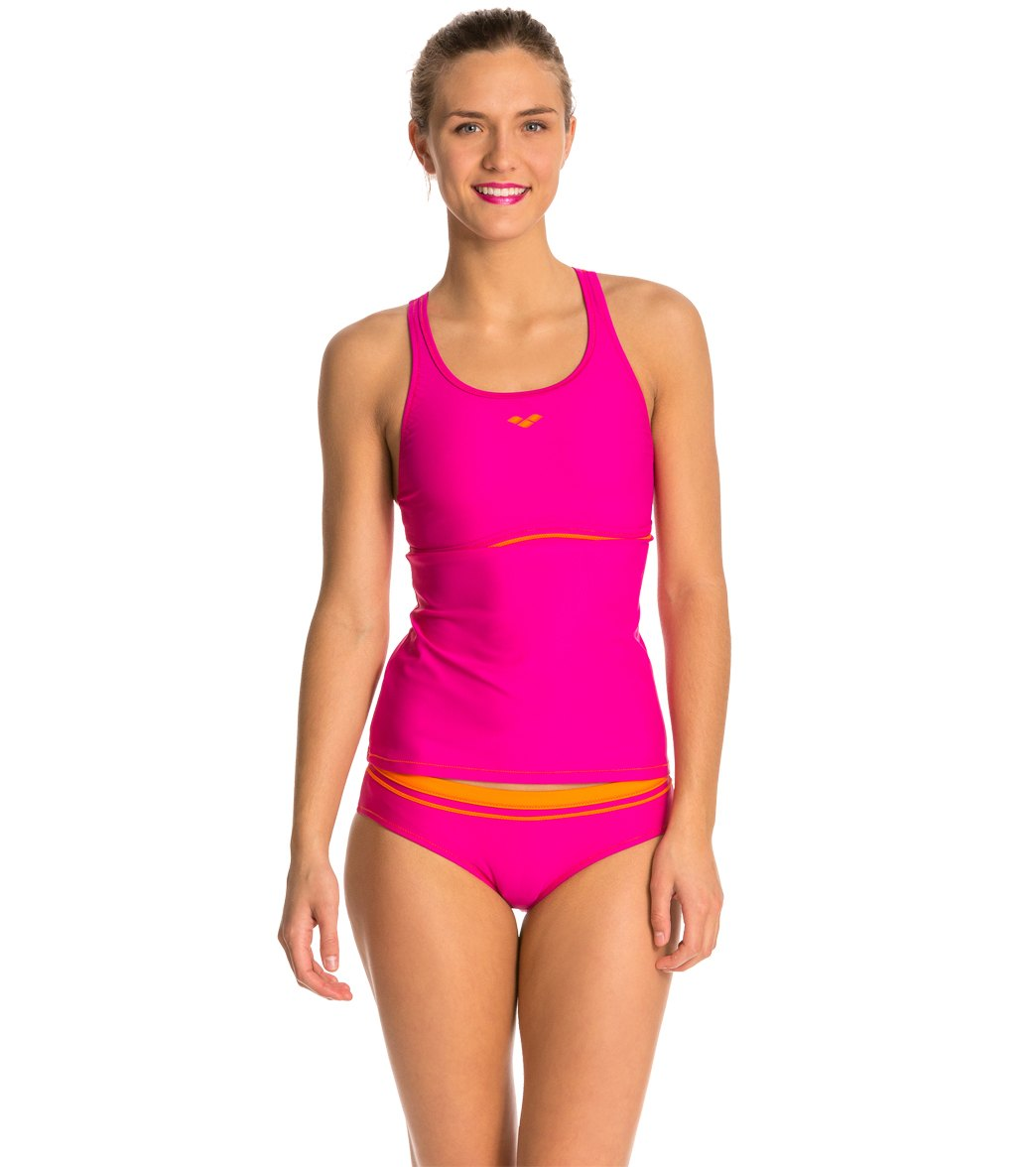 549aed4b1b Arena Sporty Tankini Top Swimsuit Set at SwimOutlet.com - Free Shipping