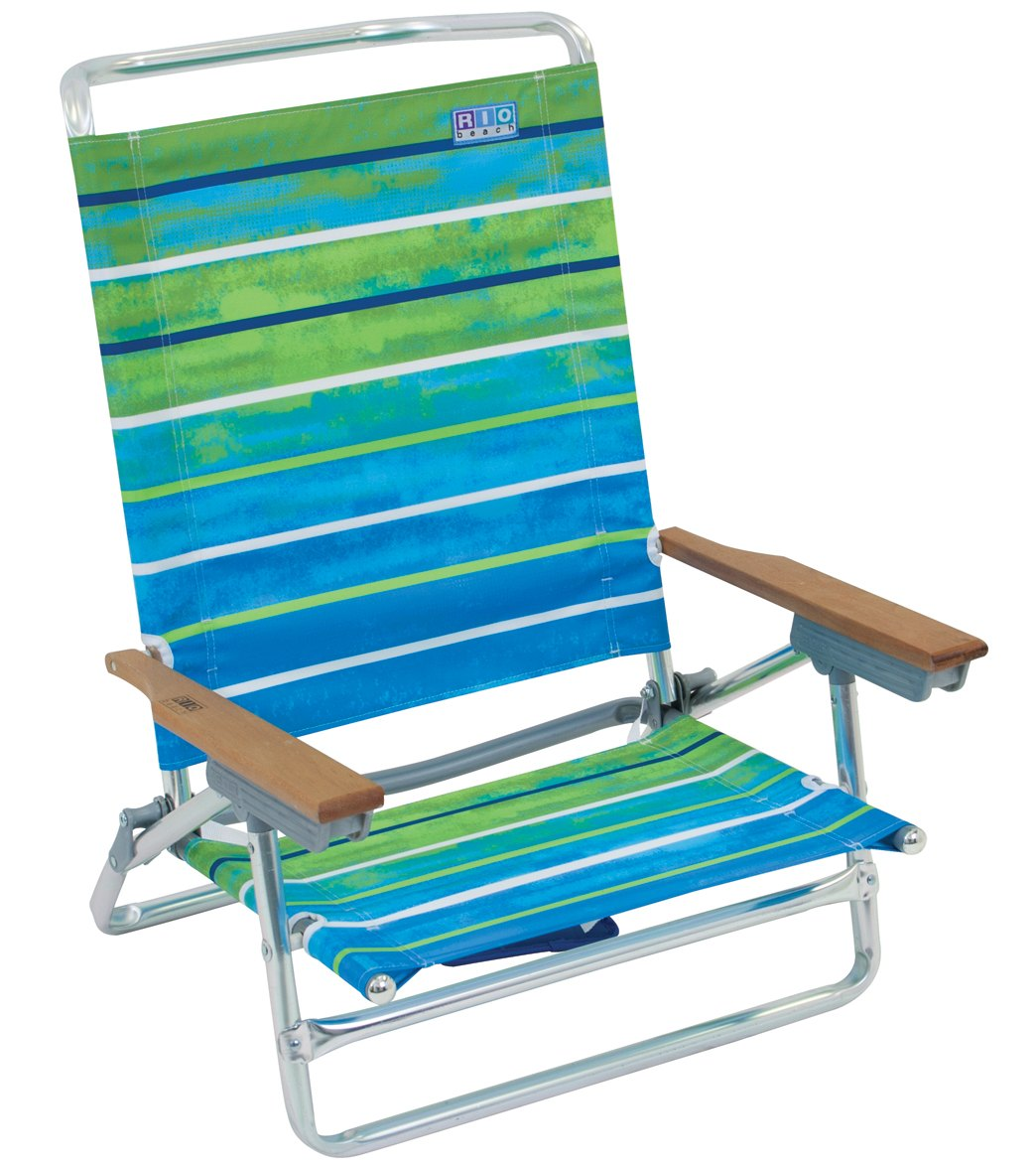 Rio Brands Classic 5 Position Beach Chair at SwimOutlet Free Shipping