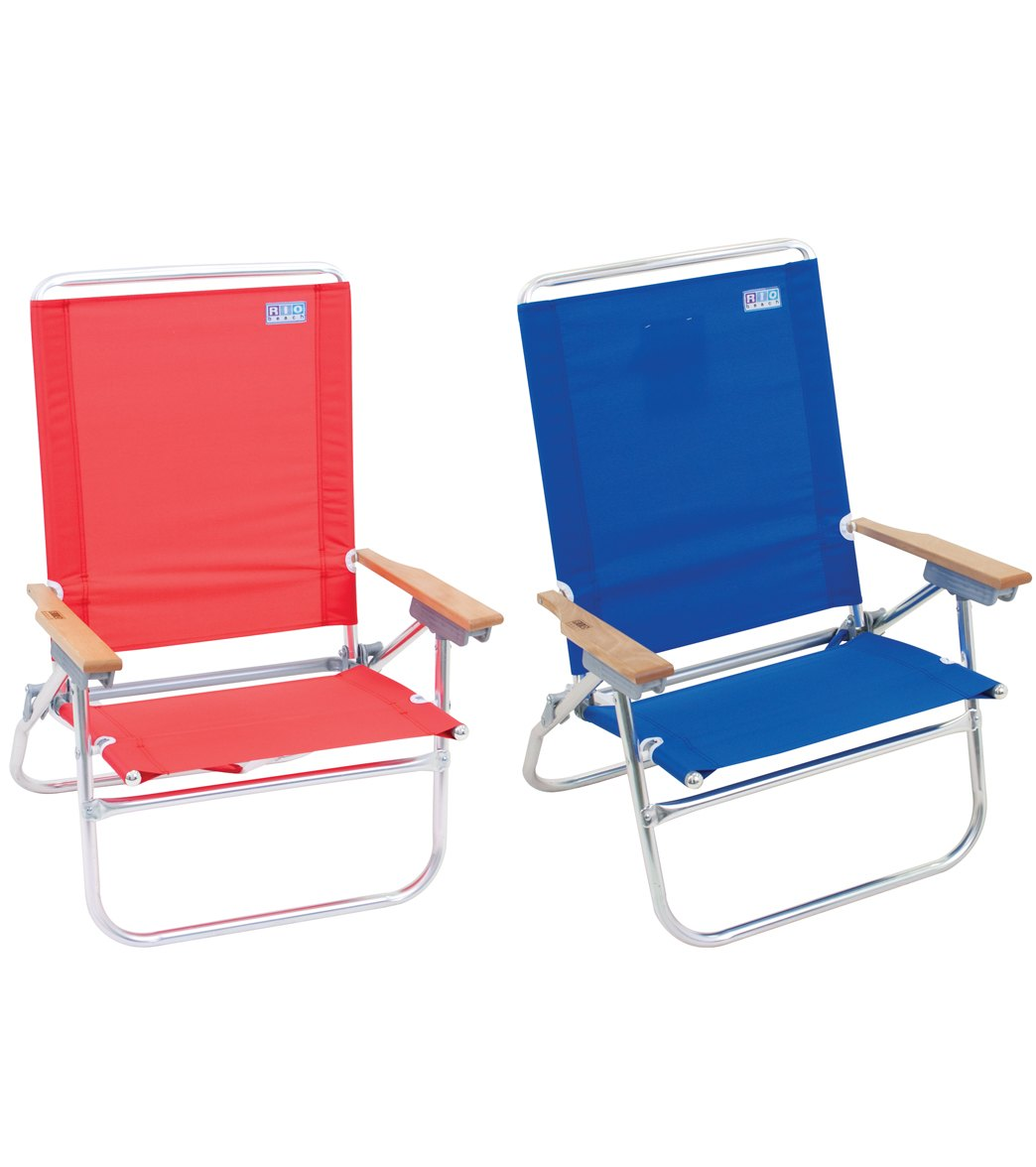 Rio Brands The Easy In Easy Out Beach Chair at SwimOutlet Free Shipping