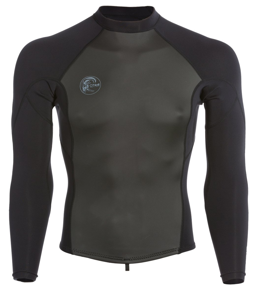 O/'Neill Reactor 2 1.5mm L//Sleeve Wetsuit Top 2018