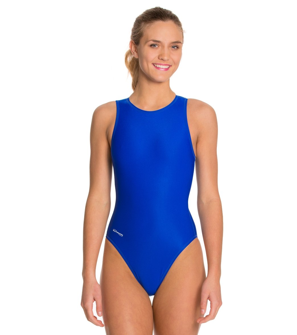 Waterpro Women s Water Polo One Piece Swimsuit at SwimOutlet.com d04849586