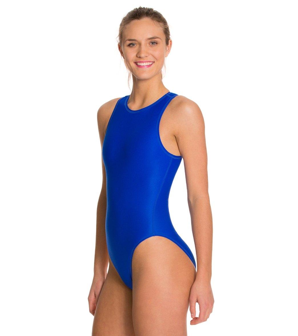 6527d00c2ba37 Waterpro Women s Water Polo One Piece Swimsuit at SwimOutlet.com
