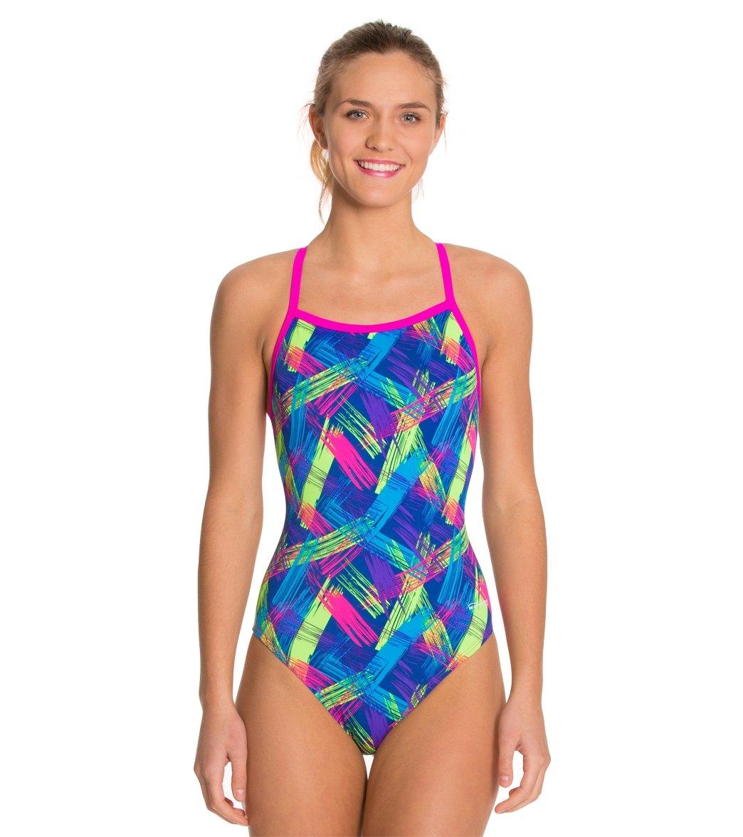 739475a929c14 ... Waterpro Neon One Piece Swimsuit. MODEL MEASUREMENTS