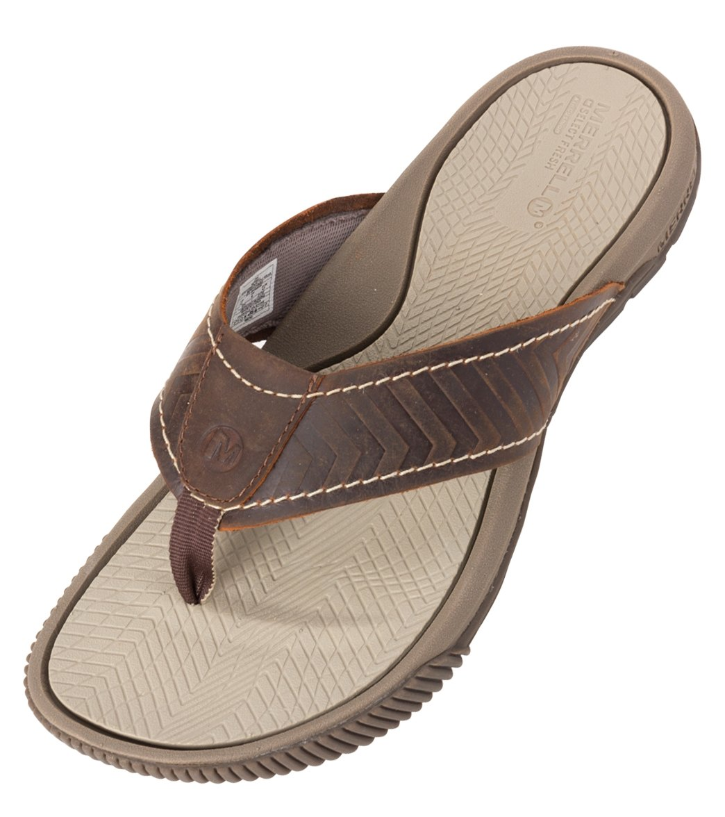 17843ea637d7 Merrell Men s Terracove Jet Flip Flop at SwimOutlet.com - Free Shipping