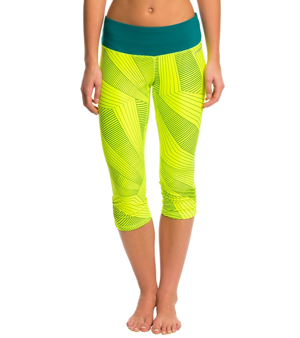 f4b6fa8a0fd53 Brooks Women's Greenlight Reversible Printed Capri SE at SwimOutlet.com -  Free Shipping