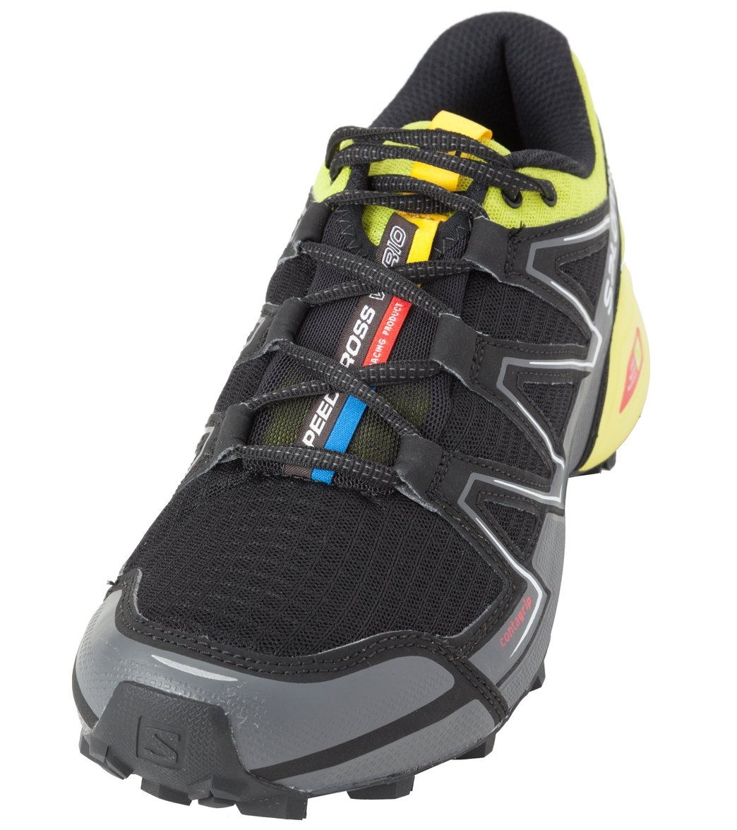 premium selection 115cf 16016 Salomon Men s Speedcross Vario Trail Running Shoes at SwimOutlet.com - Free  Shipping