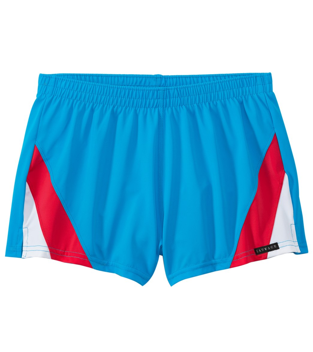 c1e91c0b27 Sauvage Retro Colorblock Swim Shorts at SwimOutlet.com - Free ...