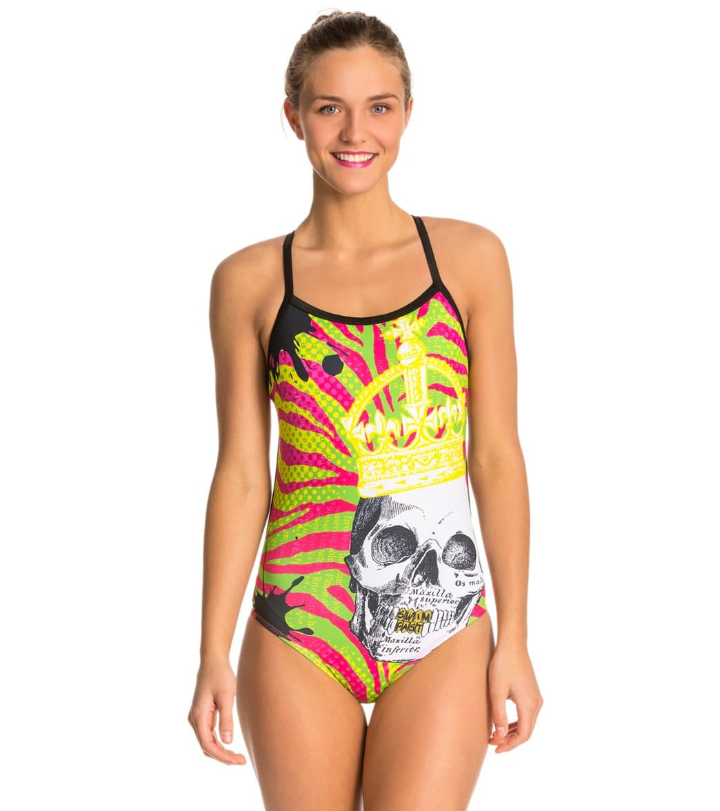 Hardcoresport Women's Royalty Cali Back One Piece Swimsuit