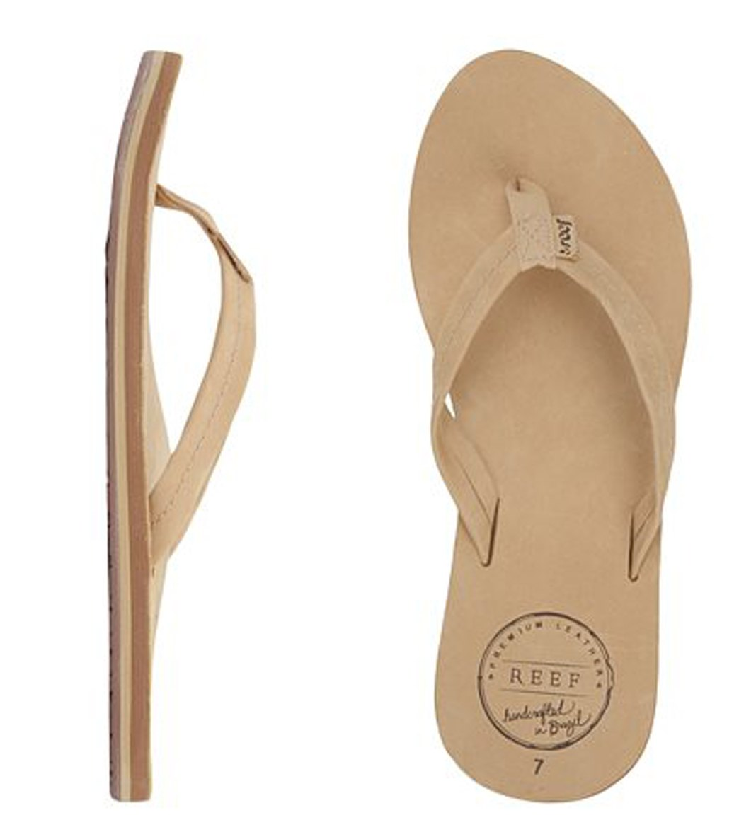 2815cafa5 Reef Women s Chill Leather Flip Flop at SwimOutlet.com - Free Shipping