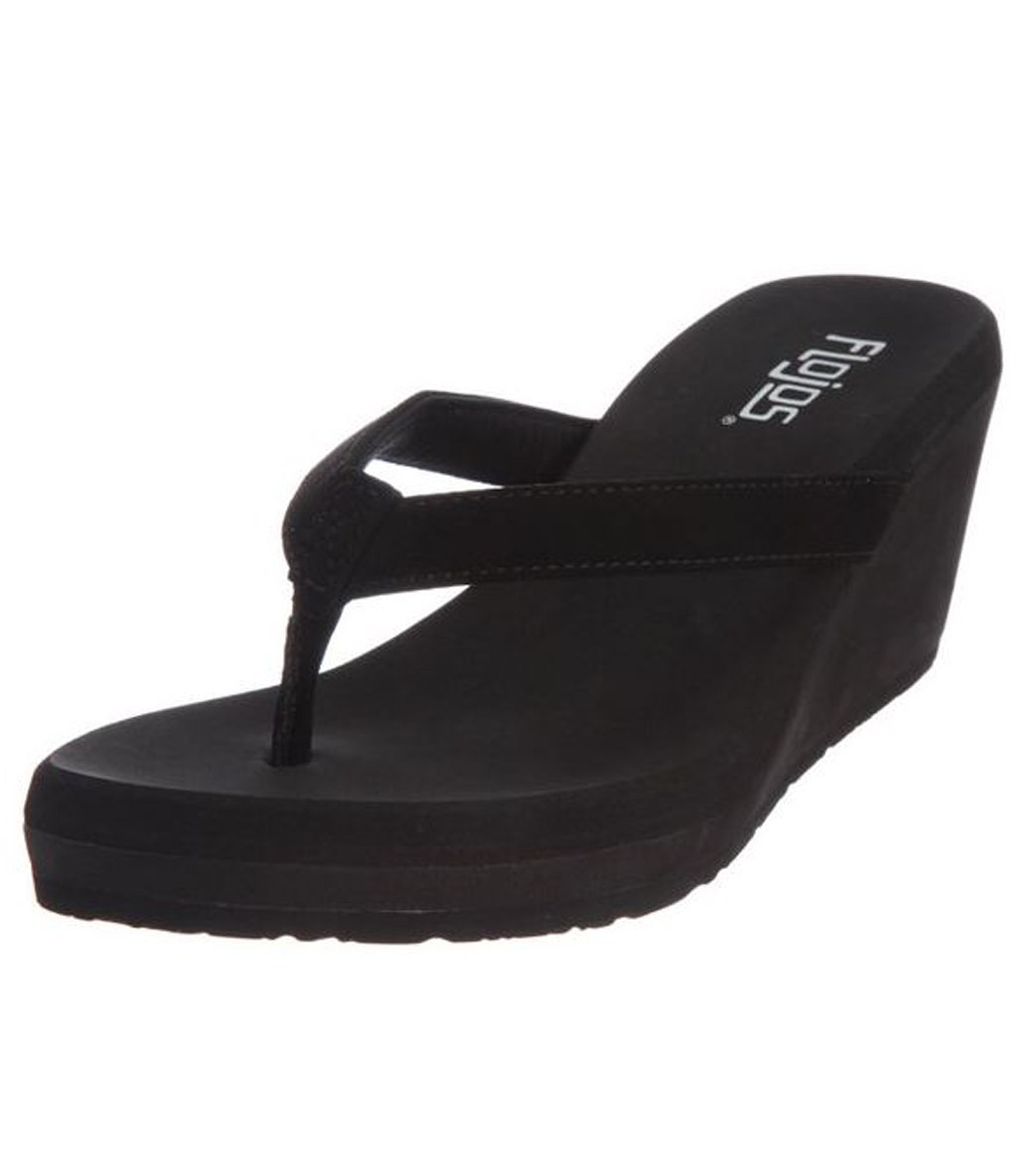 bfd81ad9557010 Flojos Women s Olivia Wedge Flip Flop at SwimOutlet.com