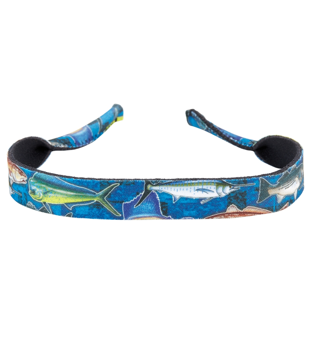c0f8d054a6e8 Croakies Fishing Print Floating Eyewear Retainer at SwimOutlet.com