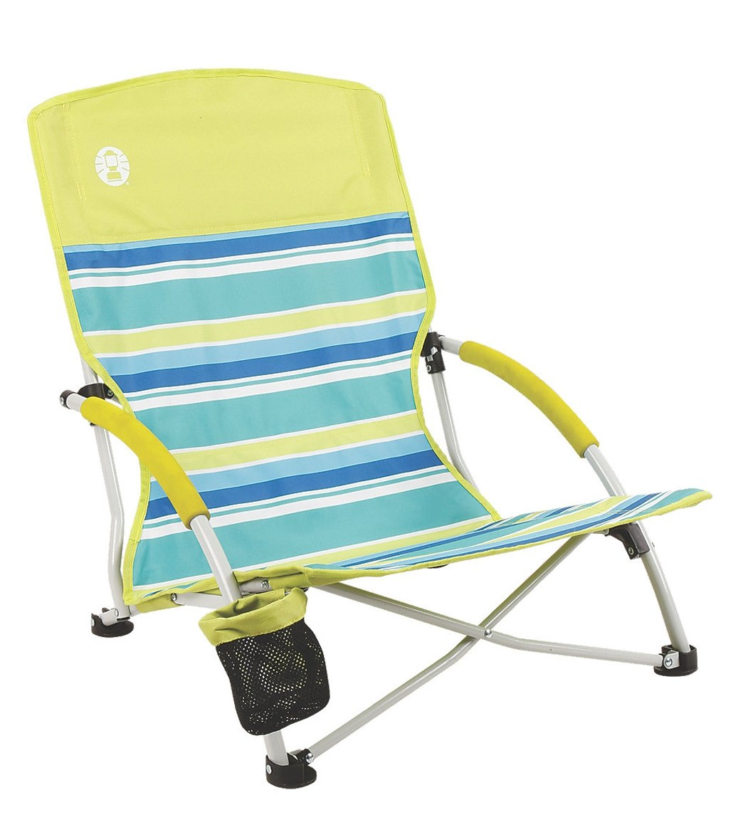 Coleman Deluxe Low Sling Beach Chair