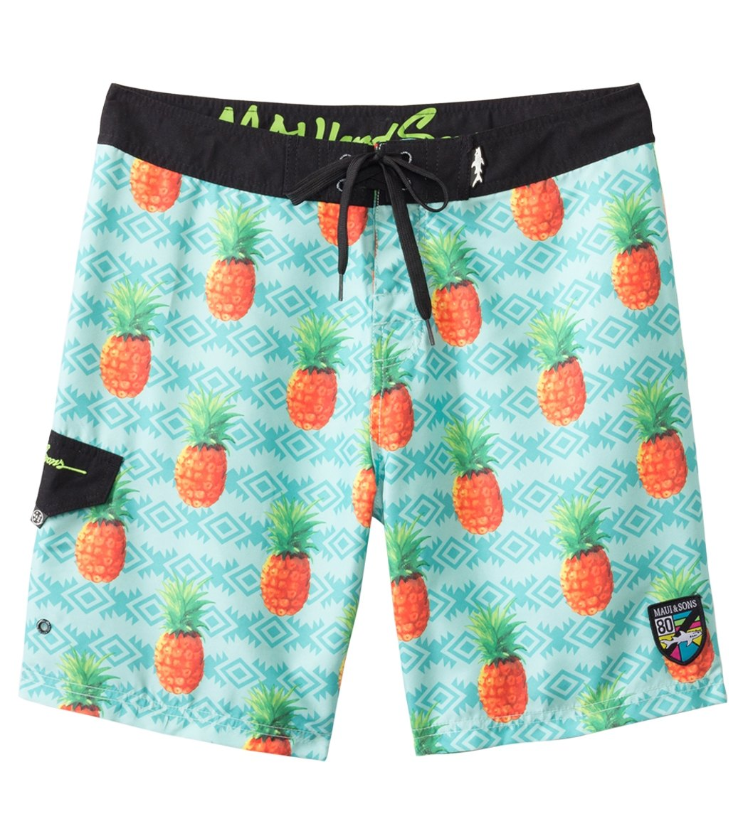 24ddb16fc5 Maui and Sons Men's Local's Only Boardshort at SwimOutlet.com