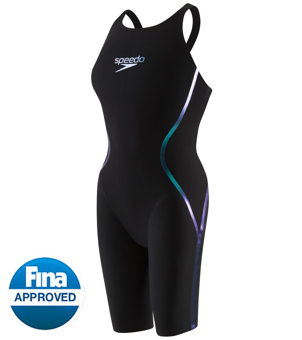 58264dc40f2 Speedo Women's LZR Racer X Open Back Kneeskin Tech Suit Swimsuit at  SwimOutlet.com - Free Shipping