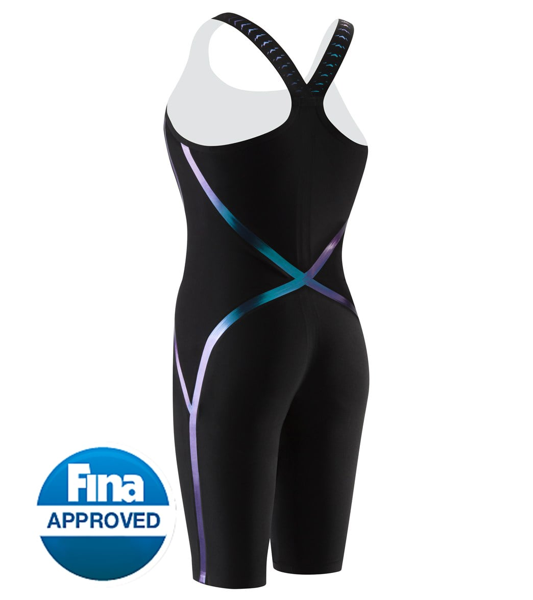 Speedo Women s LZR Racer X Closed Back Kneeskin Tech Suit Swimsuit at  SwimOutlet.com - Free Shipping 0b5865d63e