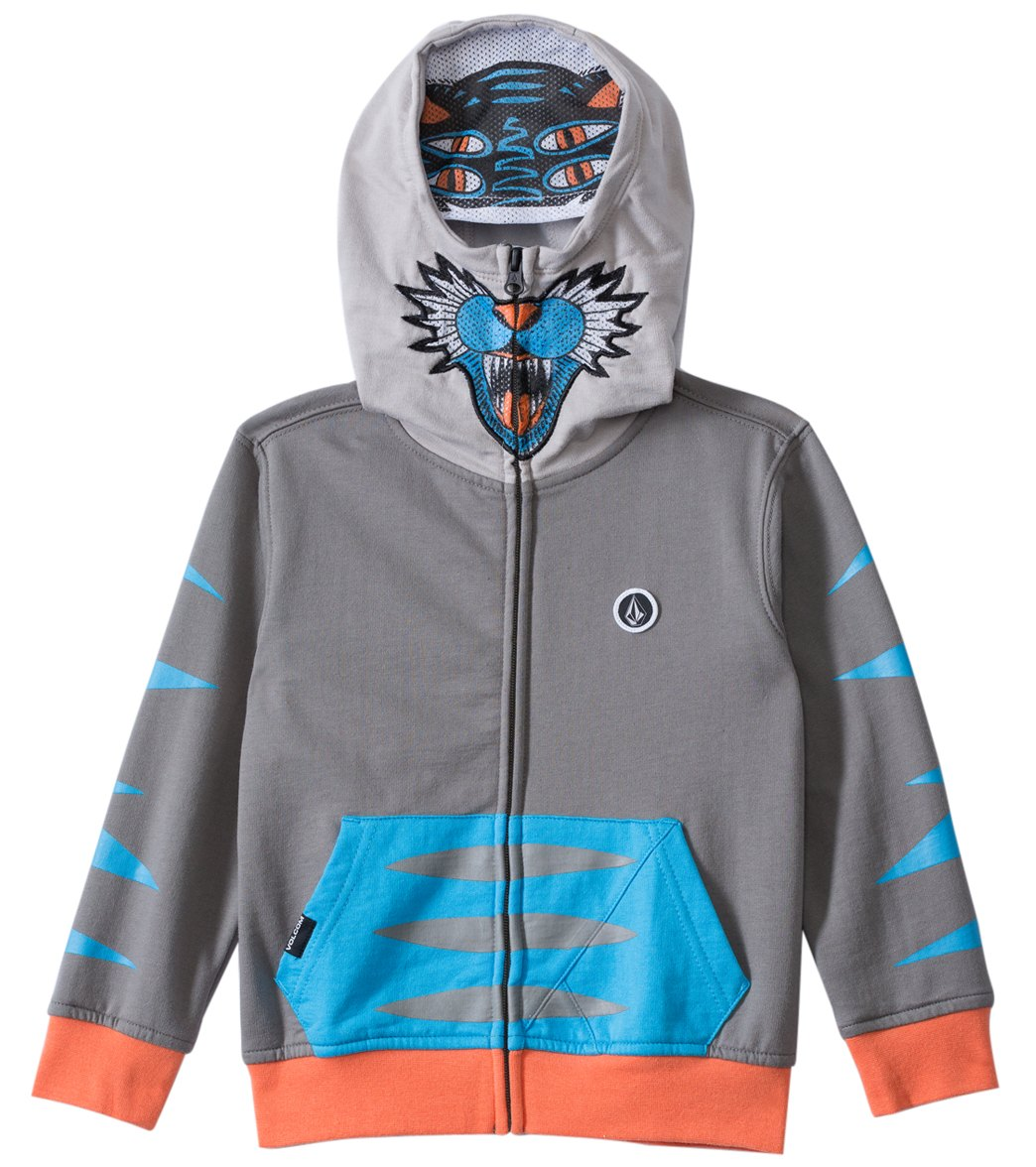 17b43746c Volcom Boys' Wild Life Full Zip Up Hoodie (2T-4T) at SwimOutlet.com - Free  Shipping