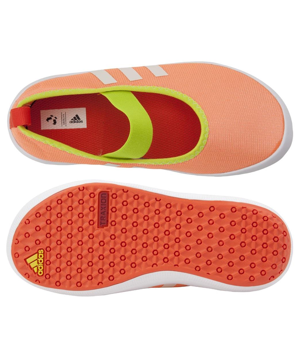 big sale 54ef8 29bea Adidas Girls Boat Slip-On Water Shoes