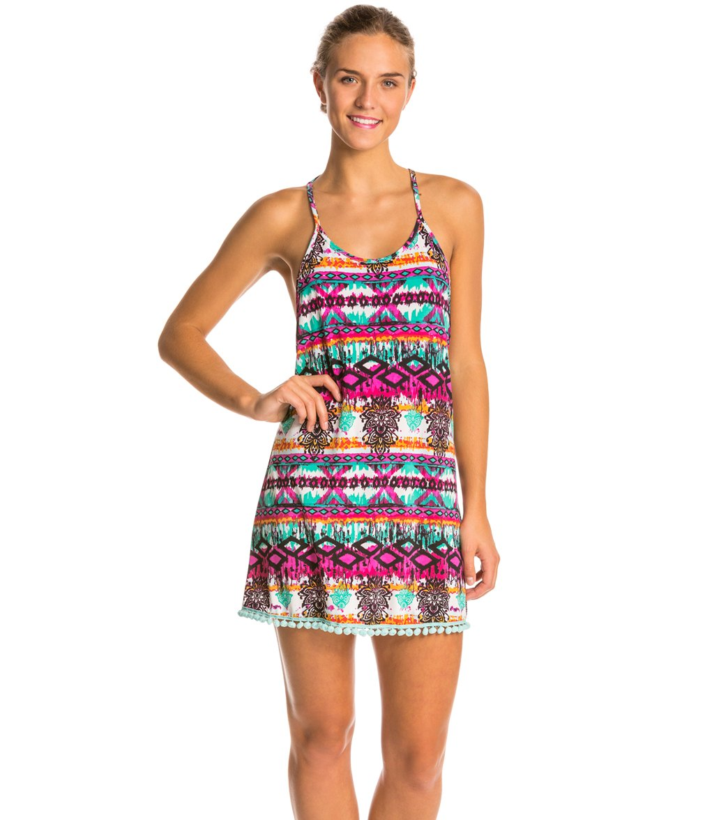 lucy love paradise beach pool party dress at swimoutlet