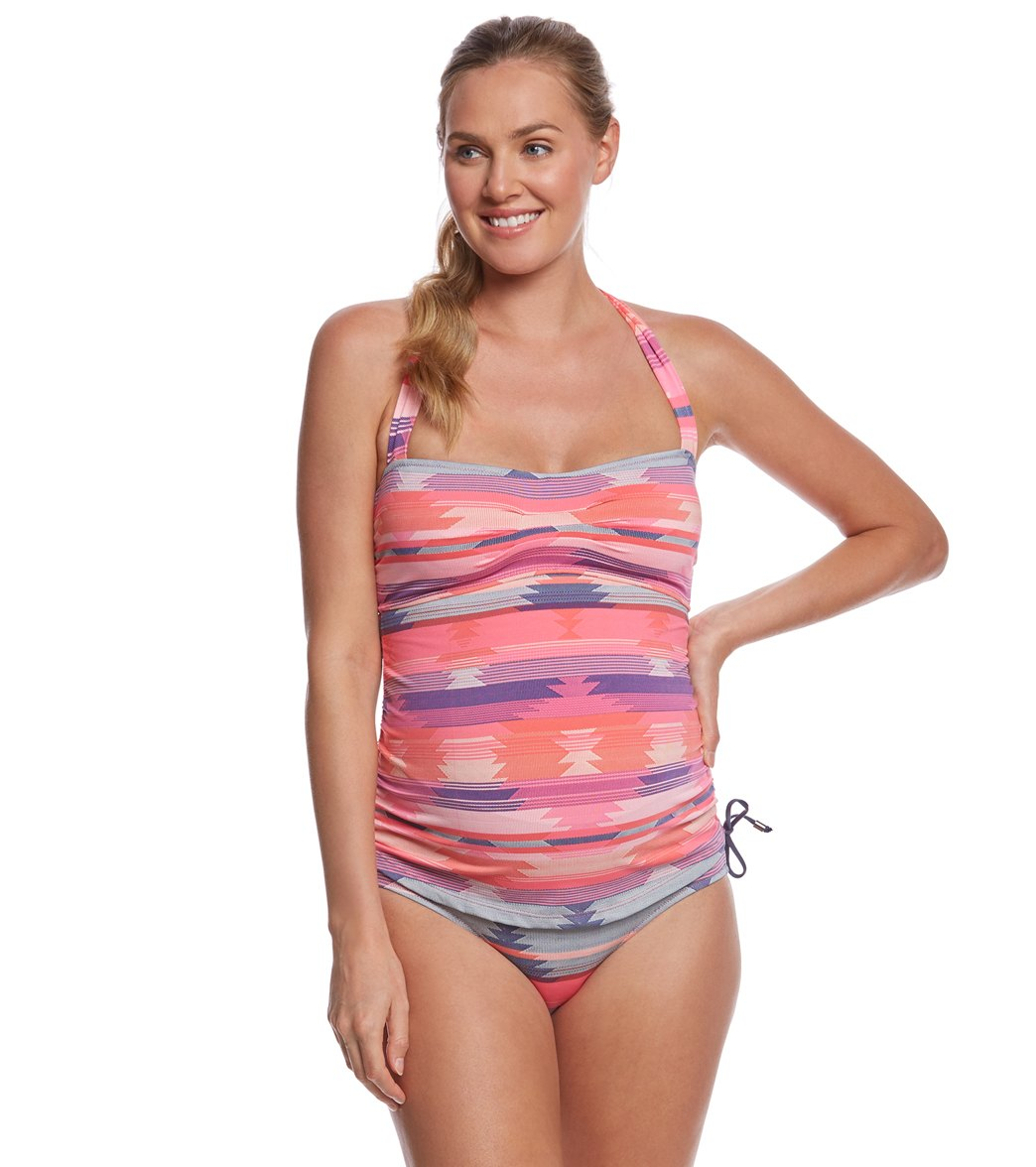 70e2d4d94be0d2 Pez D'or Maternity Palm Springs Navajo Jacquard Tankini Two Piece at  SwimOutlet.com - Free Shipping