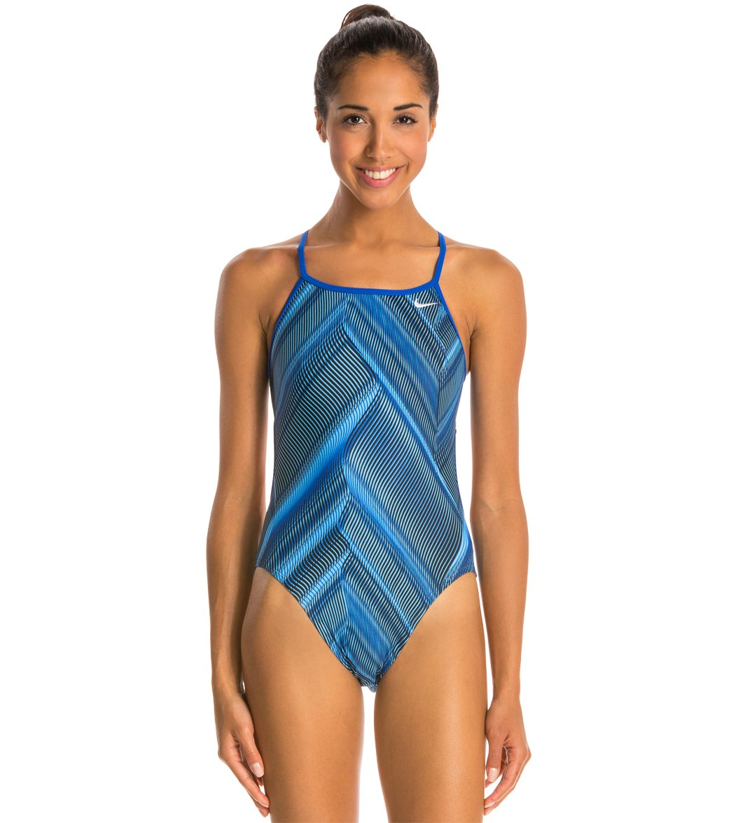 Nike Fly Modern Cut-Out Tank Swimsuit at SwimOutlet.com