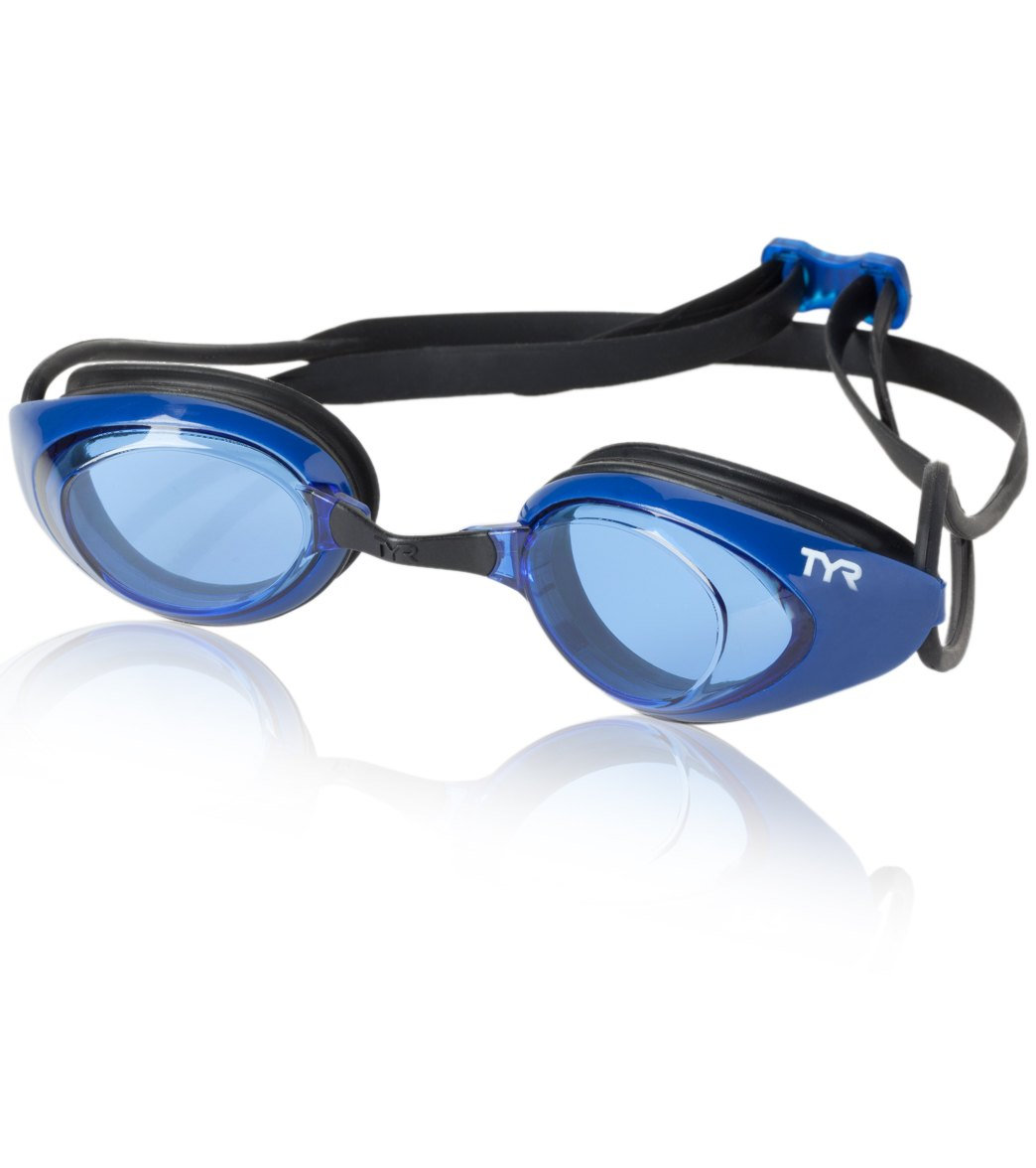 TYR Black Hawk Racing Performance Competiton Goggles