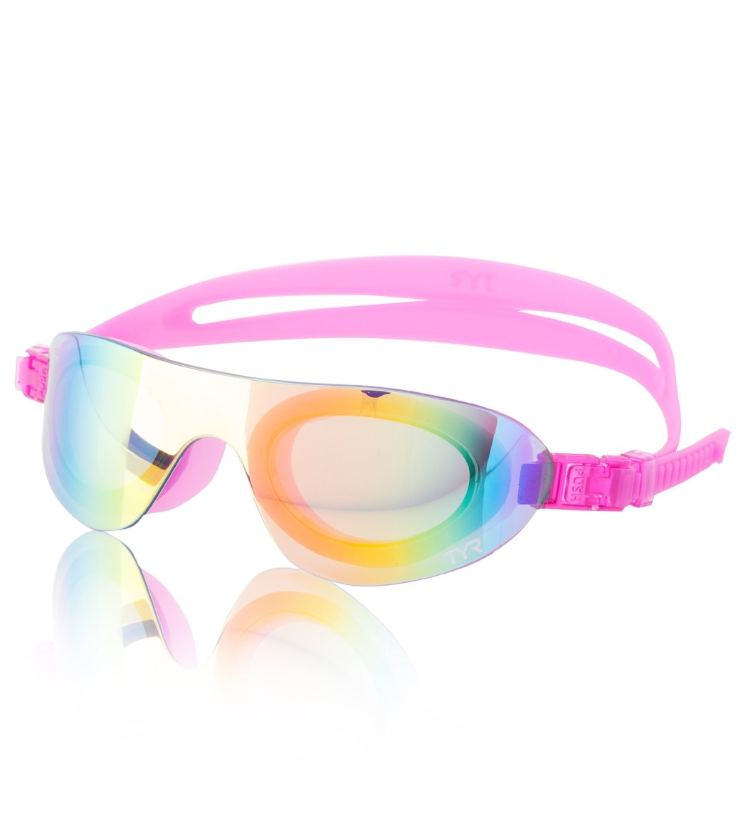 a592bb38a36 TYR Swim Shades Mirrored Active Goggle at SwimOutlet.com