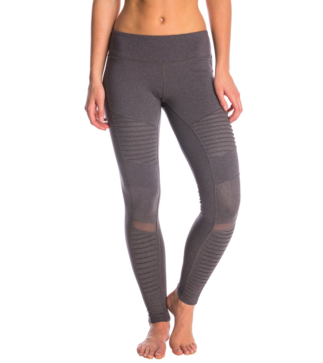f53b22e5f47dab Alo Yoga Athena Moto Yoga Leggings at SwimOutlet.com - Free Shipping