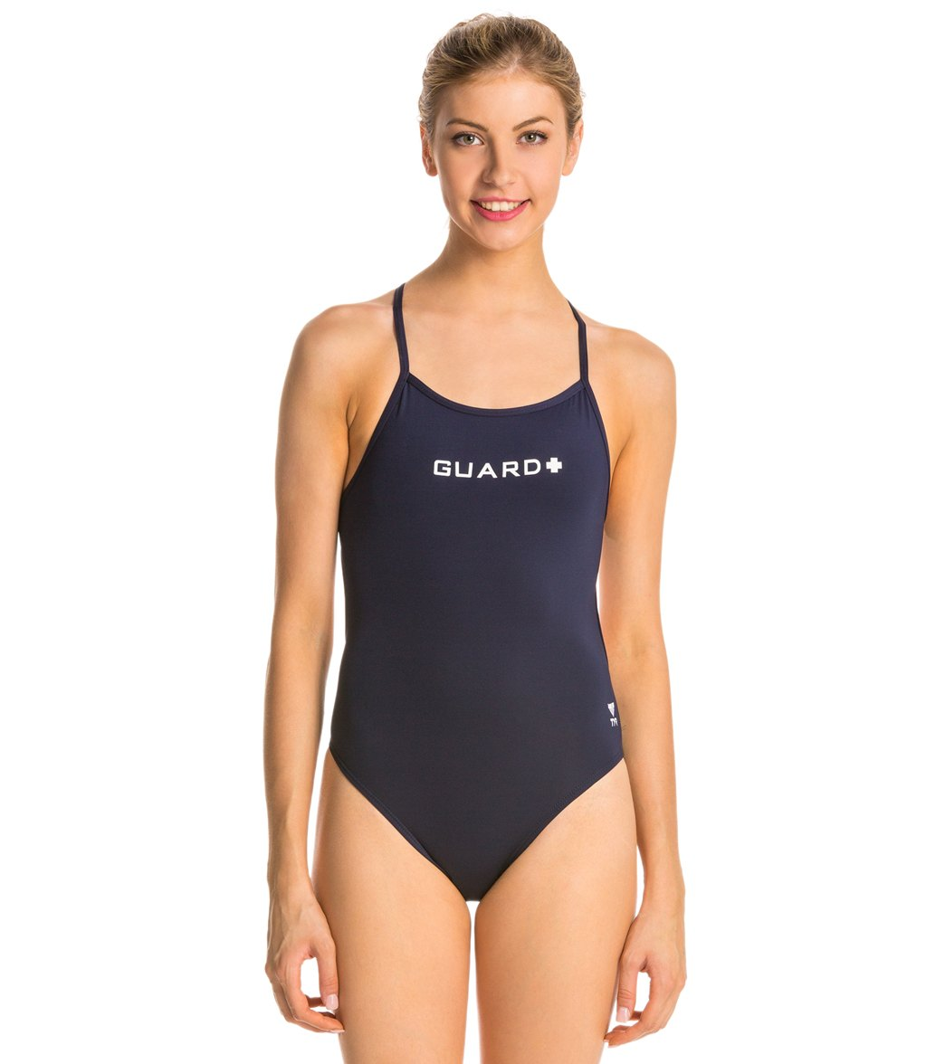 597278616dcf0 TYR LifeLifeguard Durafast Lite Crosscutfit One Piece Swimsuit at  SwimOutlet.com - Free Shipping