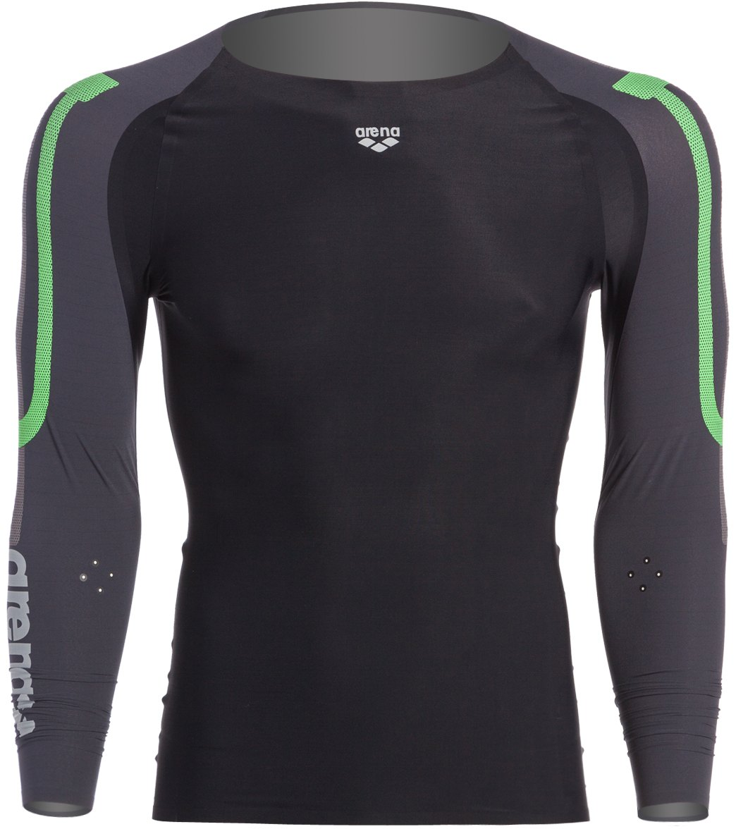 b5a11c5dd Arena Men's Compression Long Sleeve at SwimOutlet.com - Free Shipping