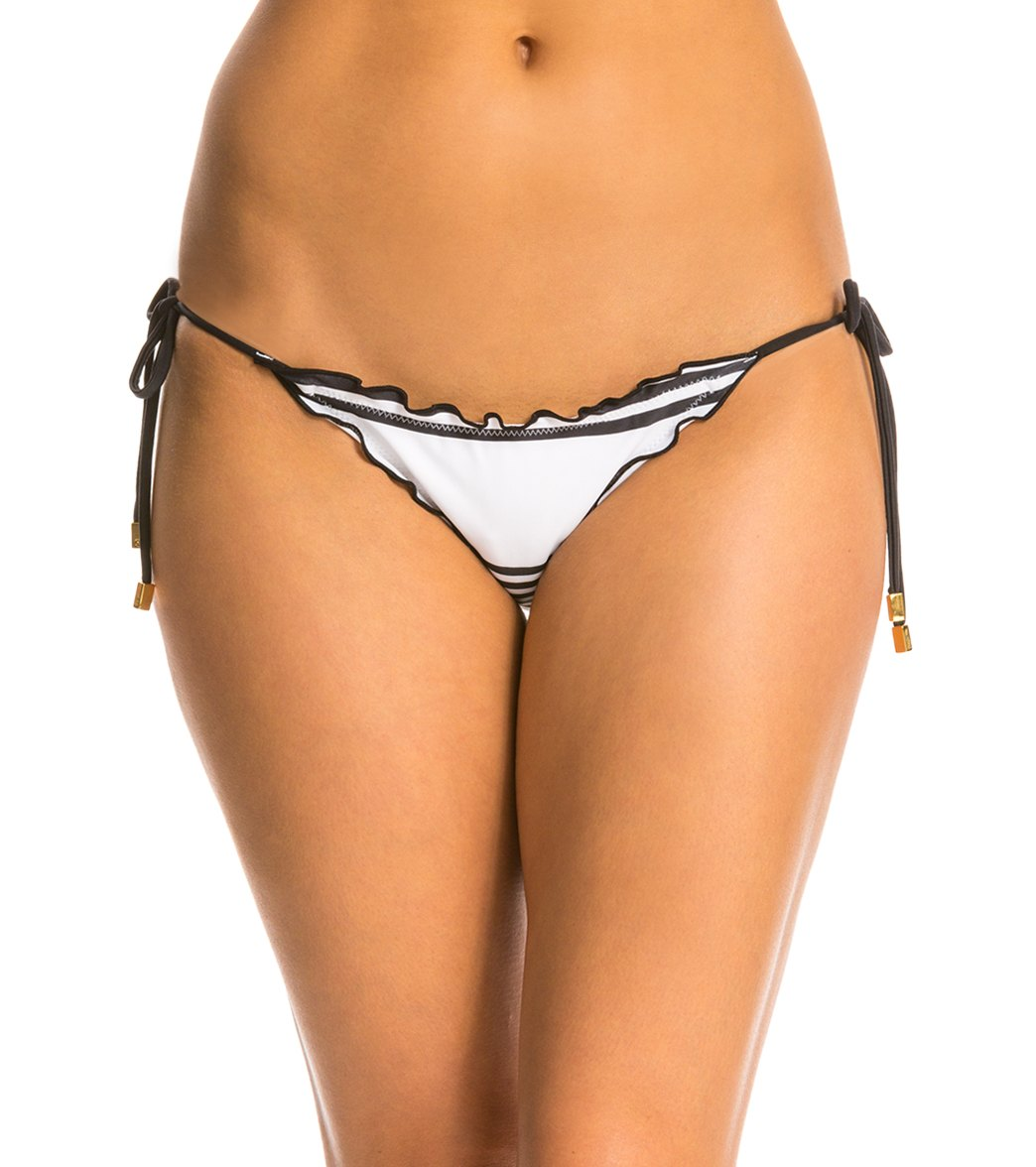 02e76c86383 ... Vix Swimwear Stripes Ripple Tie Side Full Bikini Bottom. Play Video.  MODEL MEASUREMENTS