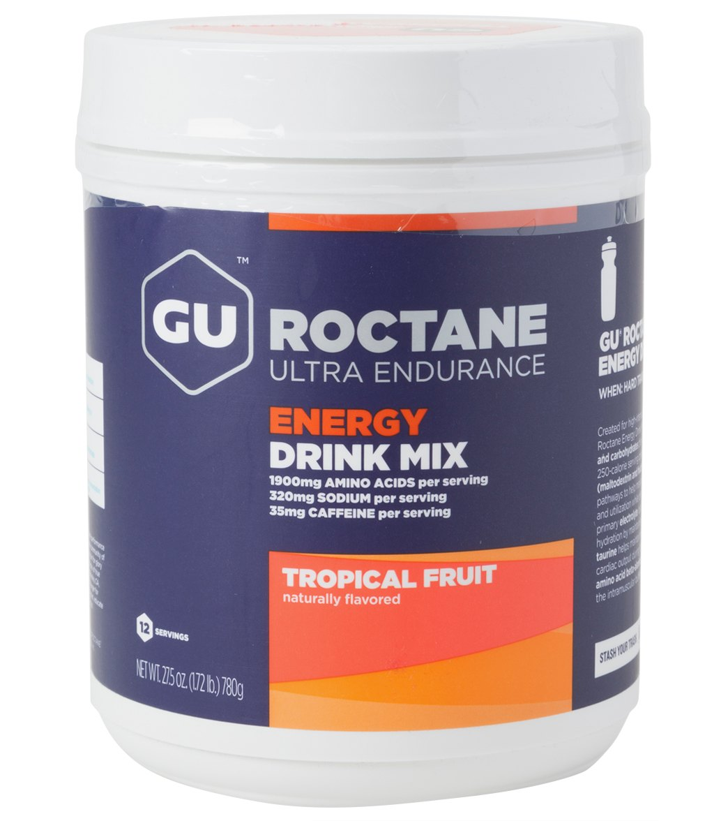 Gu Roctane Energy Drink Mix 12 Serving Canister At