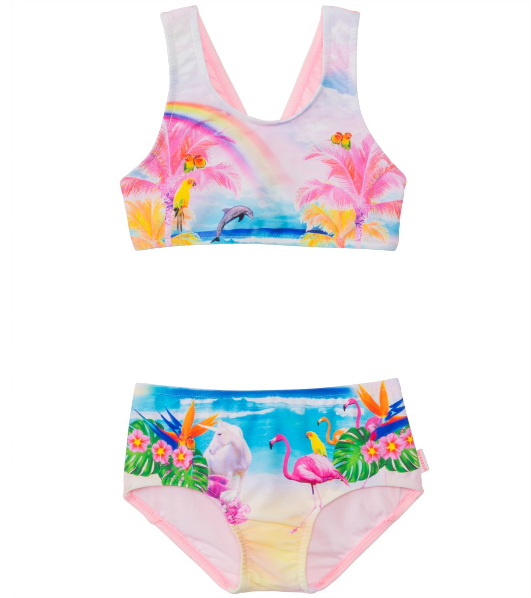 d54967cd663 Seafolly Girls  Rainbow Chaser Tankini Two Piece (2yrs-6yrs) at  SwimOutlet.com - Free Shipping