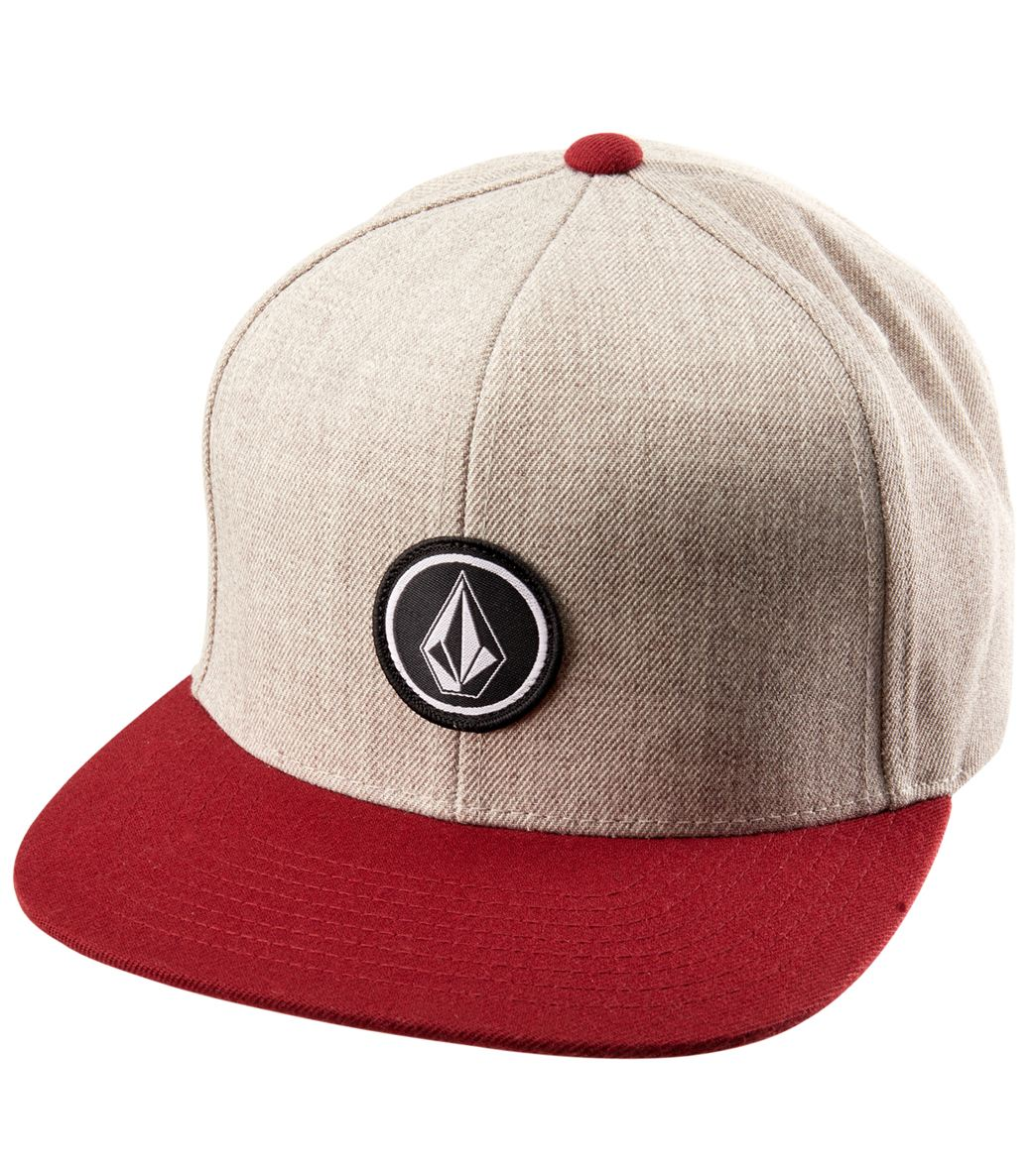 416f506015c719 Volcom Men's Quarter Twill Snapback Hat at SwimOutlet.com