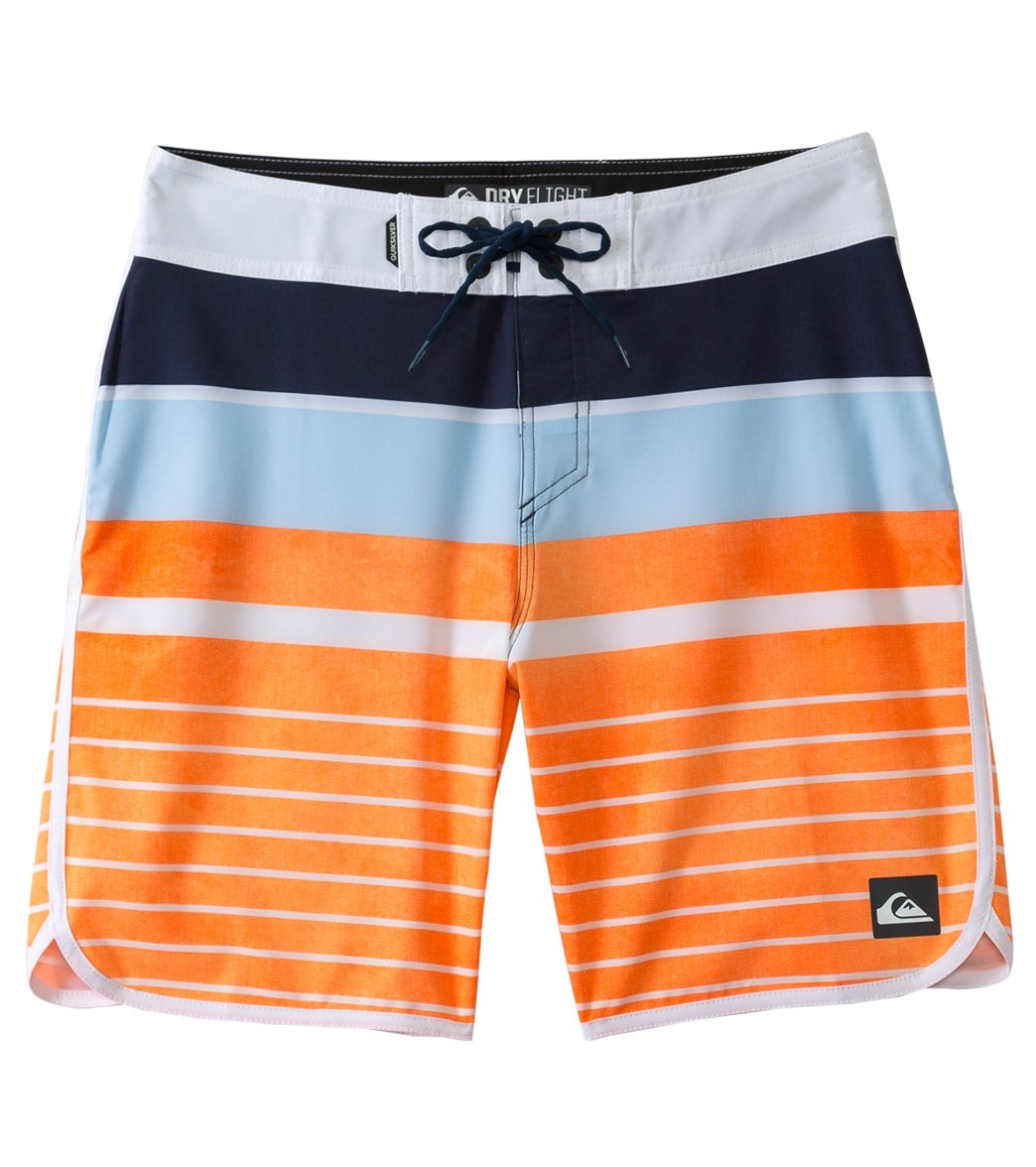 41cbe84c9c Quiksilver Men's AG47 Everyday Scallop 20 Boardshort at SwimOutlet ...