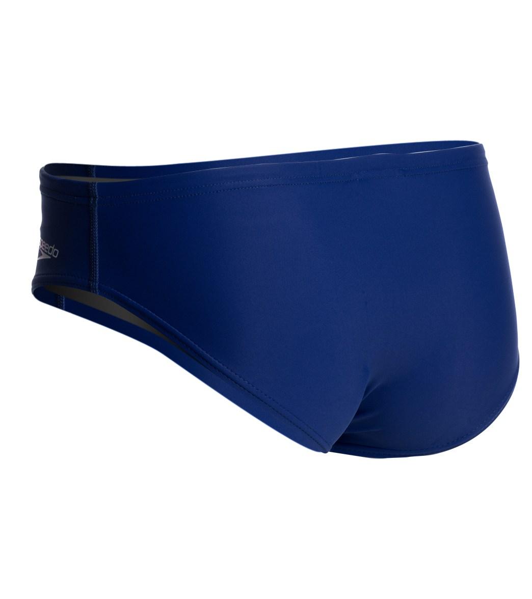 c1a94e36c8 Speedo PowerFLEX Eco Solid Men's Brief Swimsuit at SwimOutlet.com