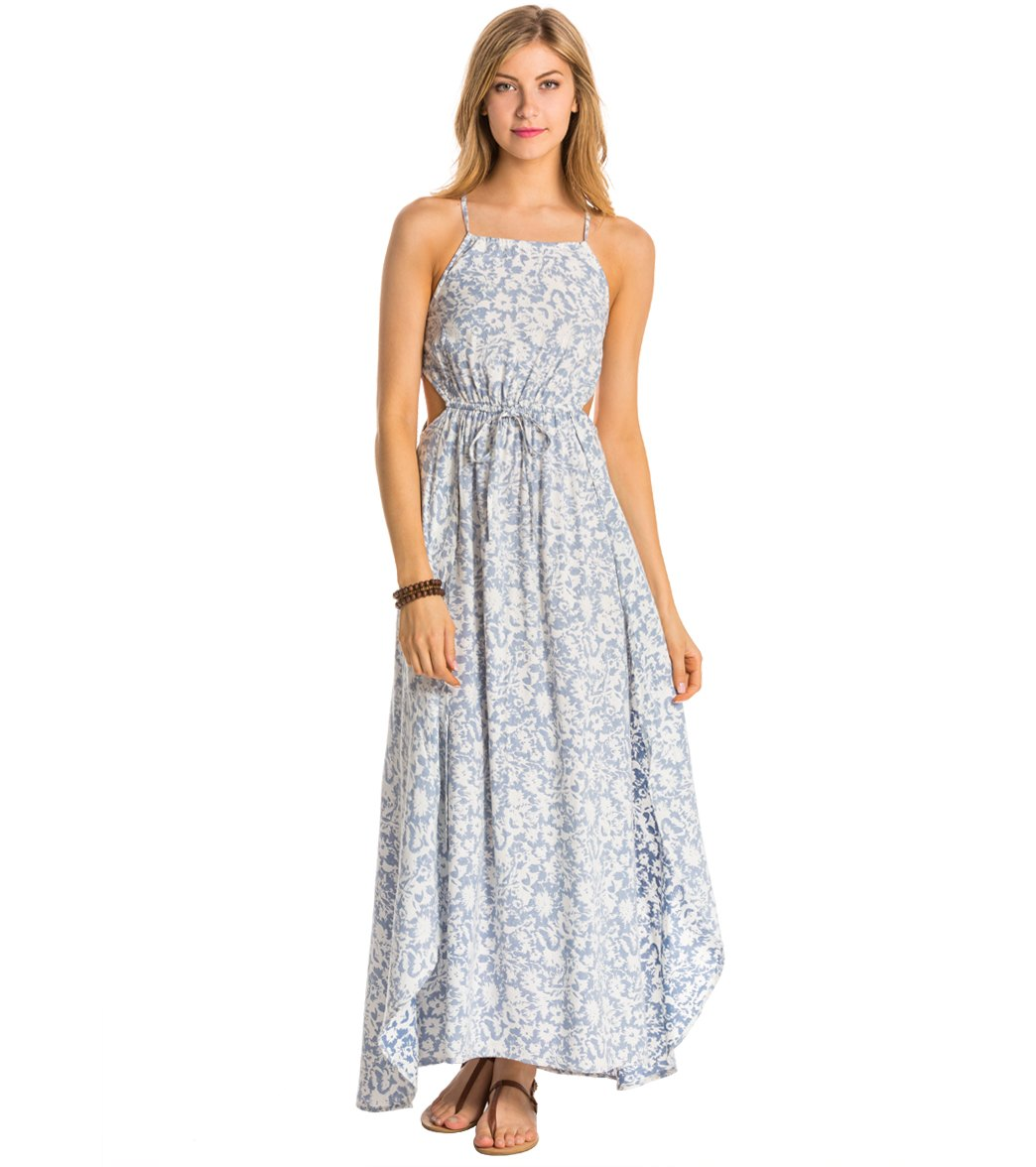 19dc4303d685 Billabong Sounds Of The Sea Maxi Dress at SwimOutlet.com - Free ...