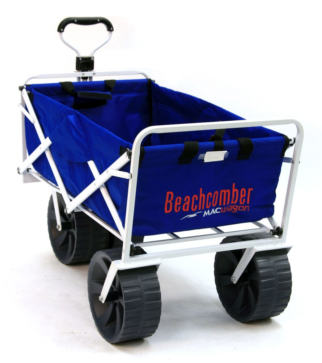 Mac Sports All-Terrain Collapsible Beach Wagon at SwimOutlet.com - Free  Shipping 7c134fb82