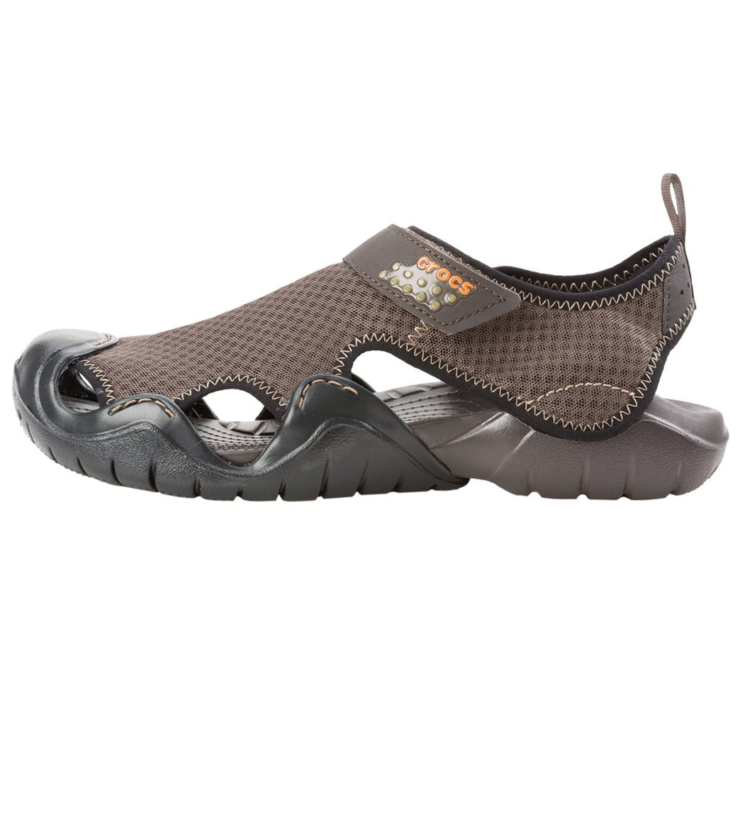 f56cc24cded Crocs Men's Swiftwater Sandal at SwimOutlet.com - Free Shipping