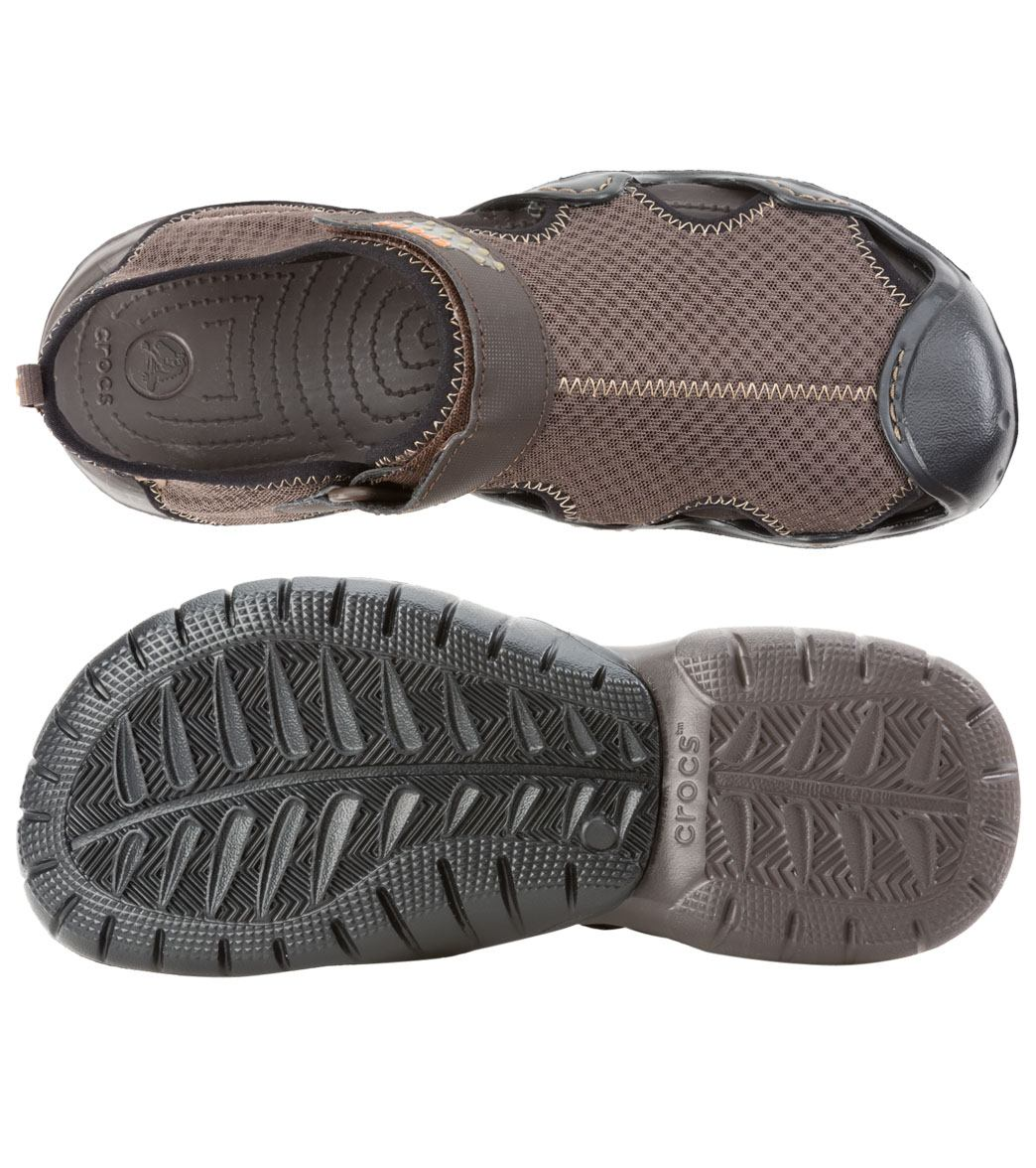 caceb6ff01b5 Crocs Men s Swiftwater Sandal at SwimOutlet.com - Free Shipping