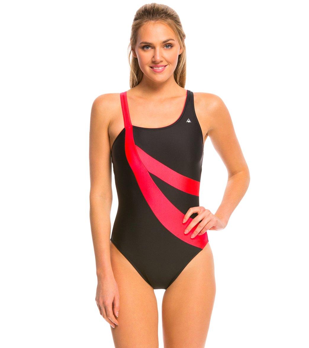b7378f3124 Aqua Sphere Sahara One Piece Swimsuit at SwimOutlet.com - Free Shipping