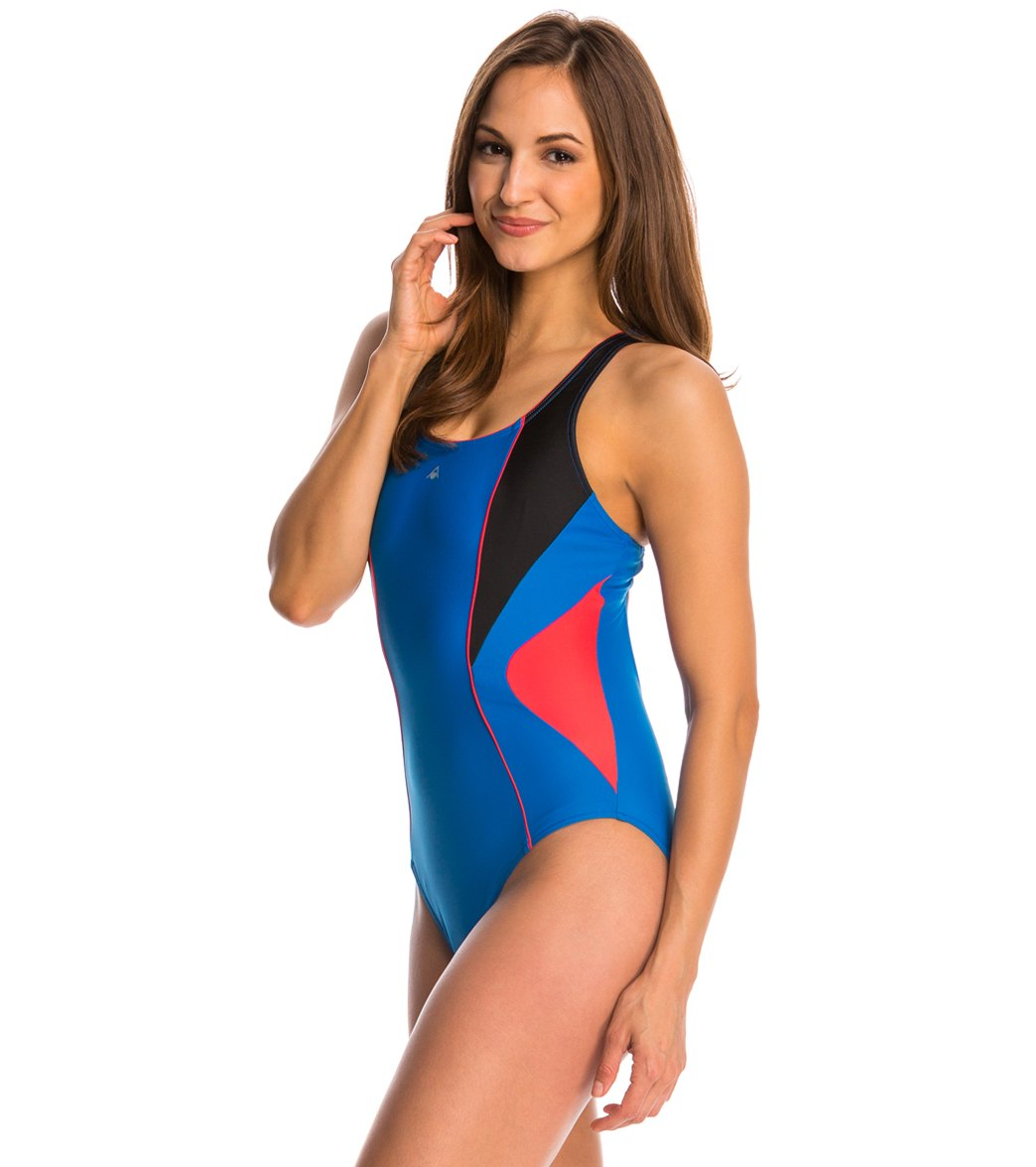 88ffe3a4e695 Aqua Sphere Chelsea One Piece Swimsuit at SwimOutlet.com - Free Shipping