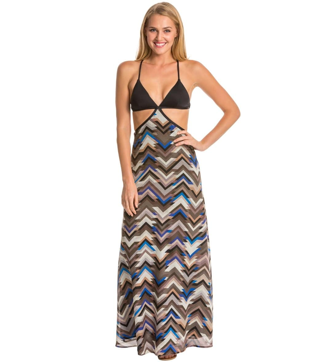 534cc4130d Vitamin A Sportif Valentina Cover Up Maxi Dress at SwimOutlet.com - Free  Shipping