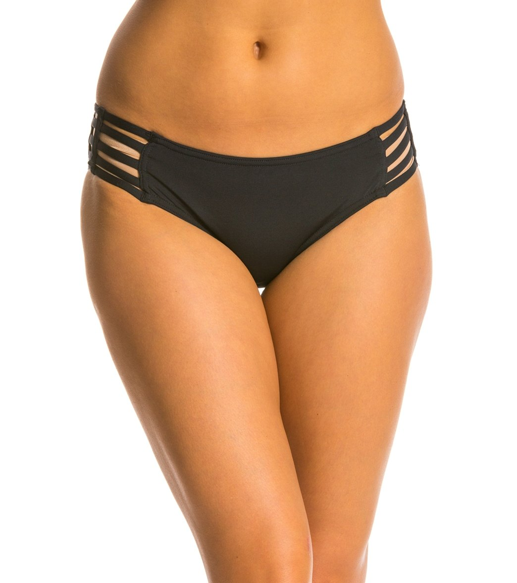 be269d847e2f6 Jag Core Solids Strappy Side Retro Bikini Bottom at SwimOutlet.com - Free  Shipping