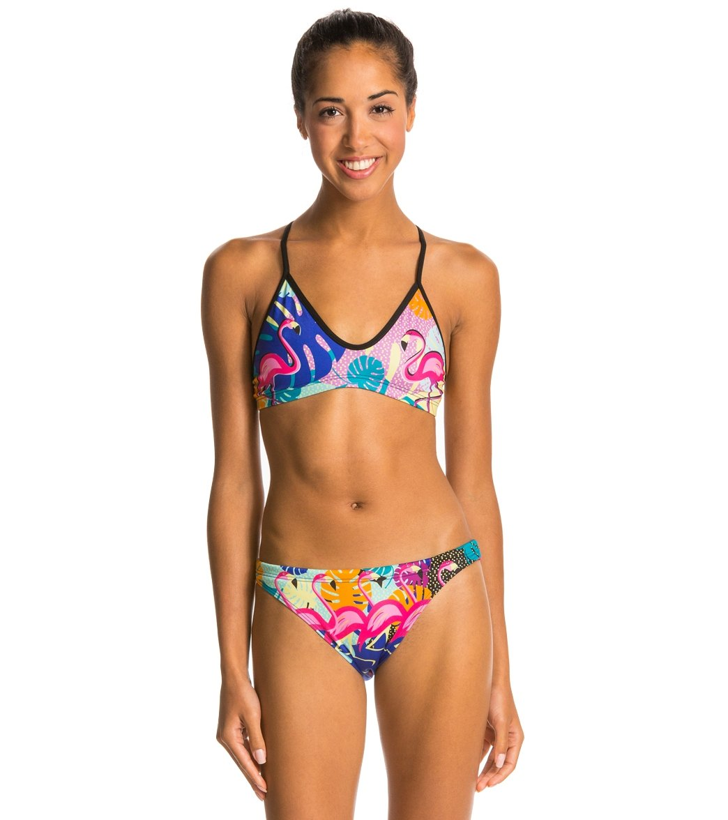 749f63605a072 Turbo Flamingo Two Piece Swimsuit at SwimOutlet.com - Free Shipping