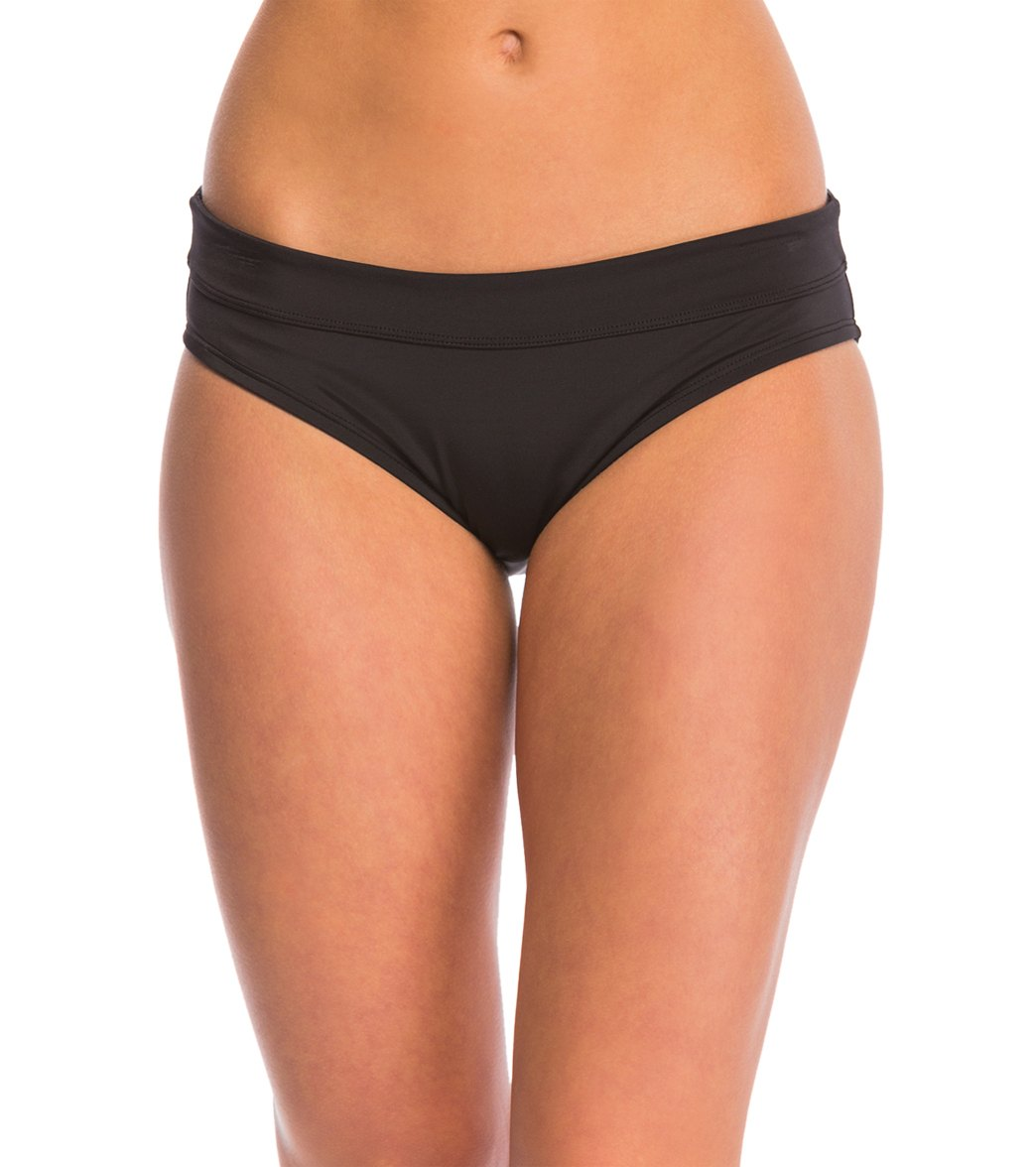 5b143e4d87a Nike Women's Core Solid Hipster Bikini Bottom