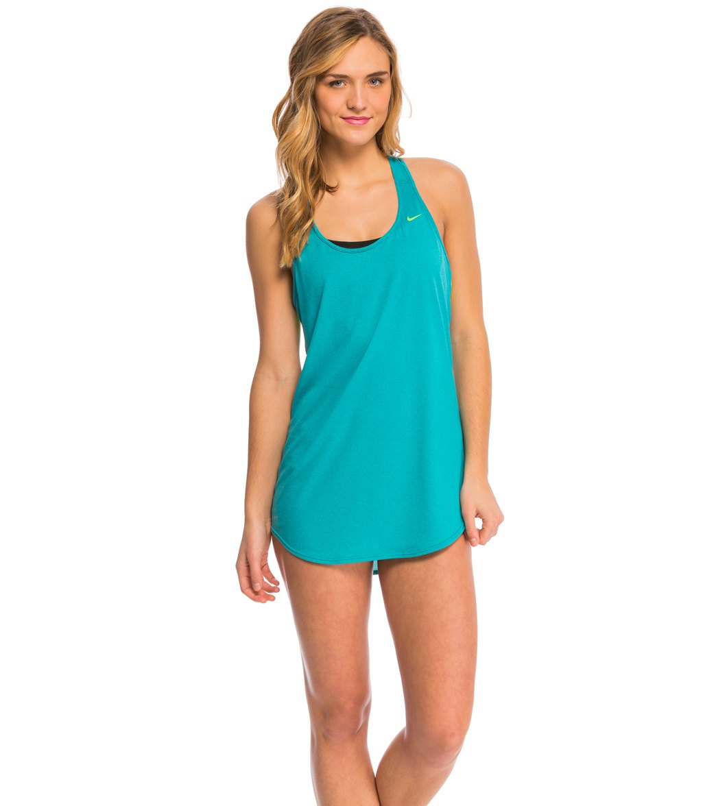 bc5955454d ... Nike Women's Cover-Up Dress. Play Video. MODEL MEASUREMENTS