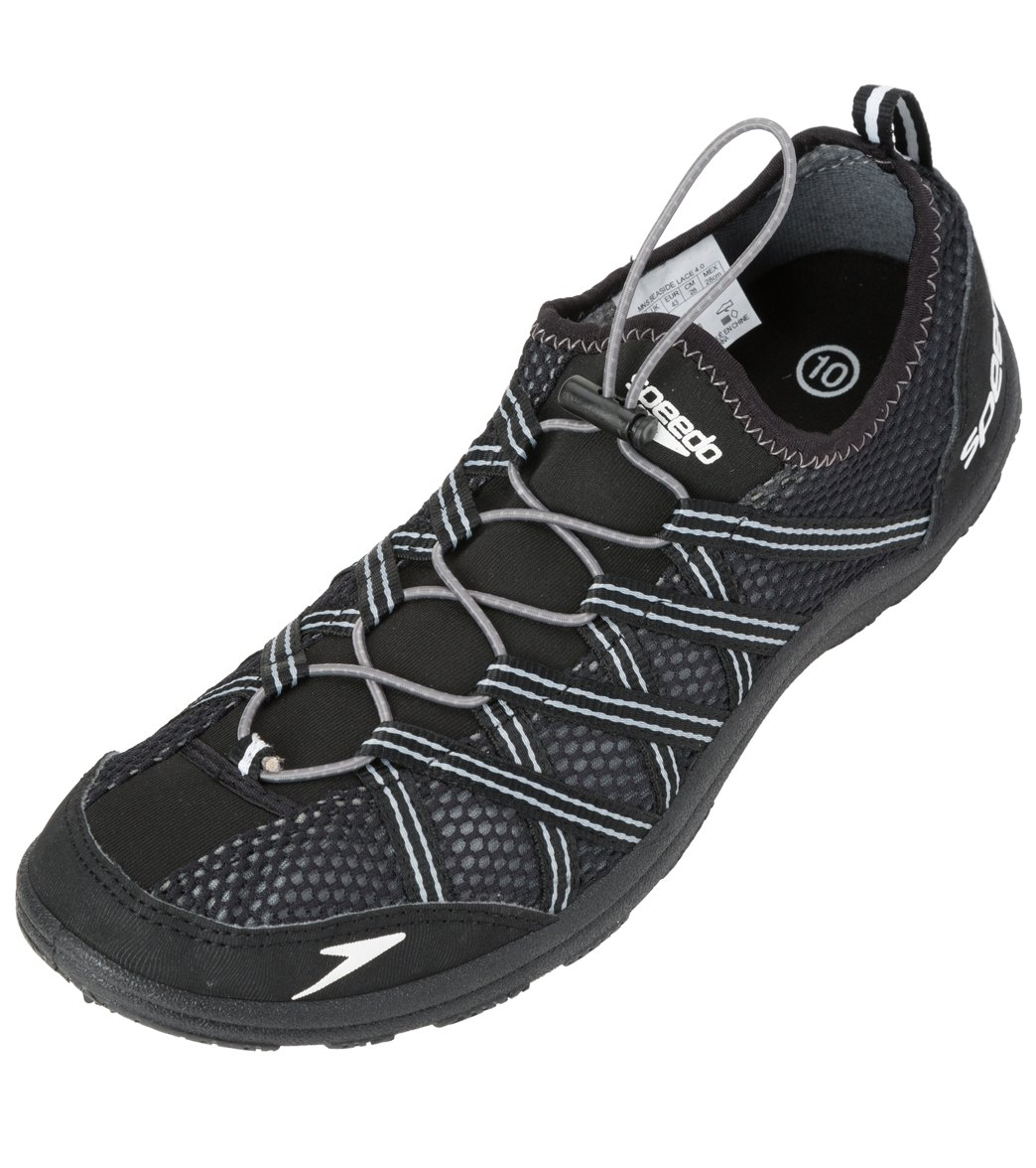 innovative design factory price outlet store Speedo Men's Seaside Lace 4.0 Water Shoes at SwimOutlet.com