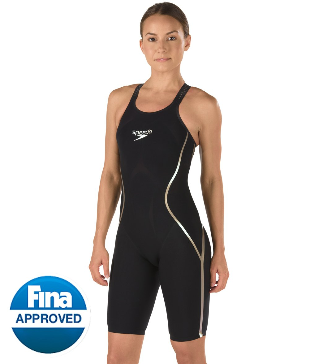 7c55711731 Speedo Limited Edition Women's Black and Gold LZR Racer X Open ...