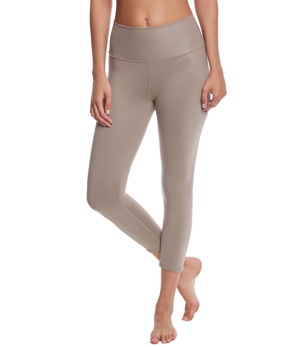 9bc63c42ce13ba Alo Yoga High Waist Airbrush Yoga Capris at SwimOutlet.com - Free Shipping